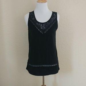 Bongo Sleeveless Cotton Knit Top